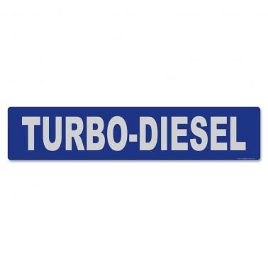 Miniletter Turbo-Diesel: Kennzeicheneinleger
