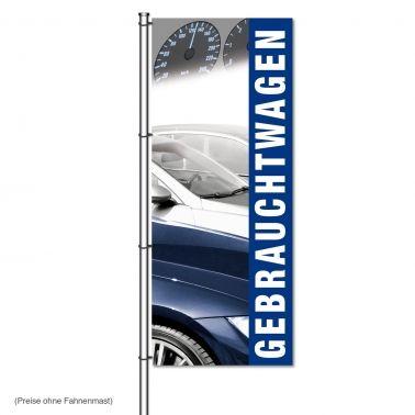 Fahne Gebrauchtwagen Design: Tacho, mit Foto Autos