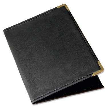 Führerscheintasche Budget: 3 Kartenfächer, 2 Steckfächer Metallecken