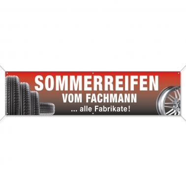 Spannband Sommerreifen vom Fachmann-alle Fabrikate für Reifenhandel