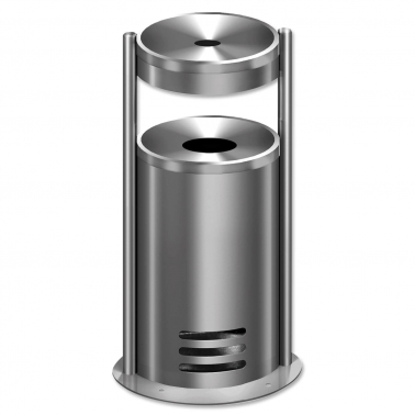 Sicherheitsascher Duo-Secure: Ascher mit Abfallbehälter selbstlöschend