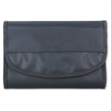 Wagenpapiertasche Car Label: großes Hauptfach, Steckfächer im Überschlag