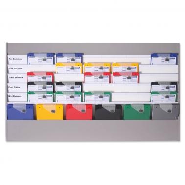 Plantafel Allround: für DIN A4: 6 Planungsreihen (5+1 Reihe)