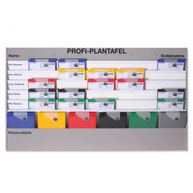 Plantafel Profi: für DIN A4, 6 Planungsreihen (5+1) Zeitskala