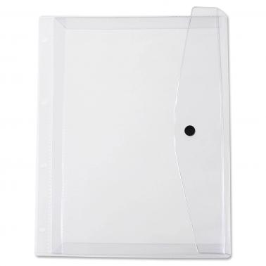 Dokumententasche XL mit Druckknopfverschluss & Abheftleiste