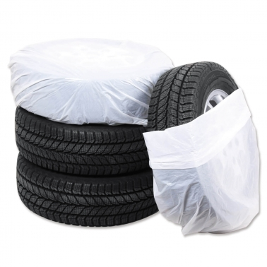 Reifensäcke Uni XL: für Räder bis 22 Zoll, 100 Stück
