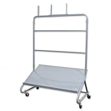 Rollwagen Werkstatt für 2 Rollen: 1 Fachboden / Rollenhalter