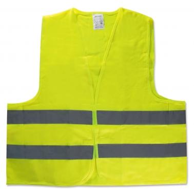 Warnweste gelb Universalgröße mit Klettverschluß