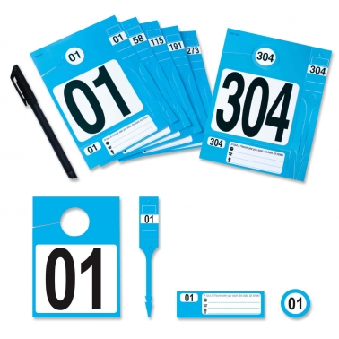 Leitzahl Set  01-304 zur Fahrzeugorganisation: Nr. 01 bis 304