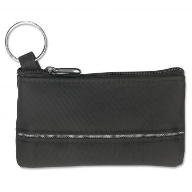 Schlüsseltasche New Silver Key mit Zierstreifen