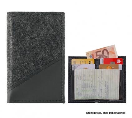 """Führerscheintasche """"Pulse Compact"""": Fach für Geldscheine, KFZ-Schein, 4 Karten"""
