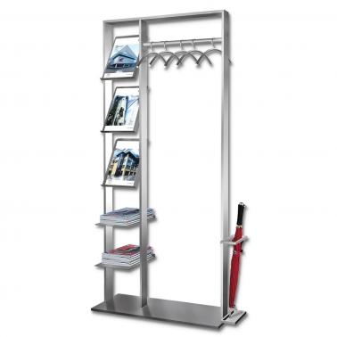 Garderobe Multi X freistehende Garderobe mit Ablagefächer