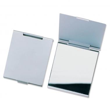Damenspiegel Make-up-Spiegel für die Handtasche aufklappbar