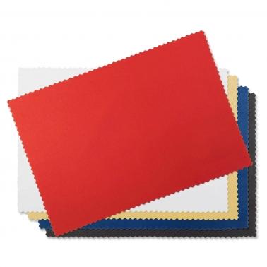 Reinigungstuch Klare Sicht aus Microfaser mit 1-farbigem Aufdruck