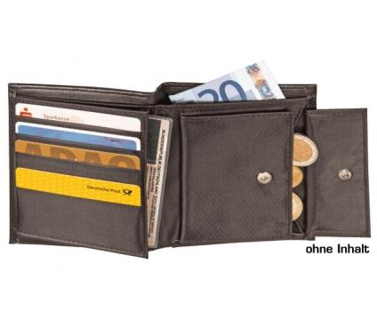 Geldbörse Kombi aus softweichem Material inkl. 5 Kreditkartenfächer