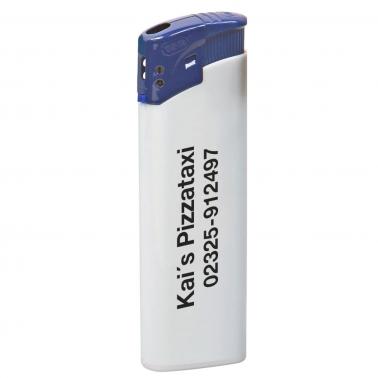 Elektronikfeuerzeug Colour Cap mit Flammenregulierung
