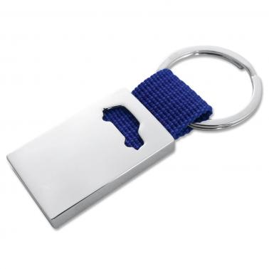 Schlüsselanhänger Driver modisches Styling mit Autologo farbiges Nylonband