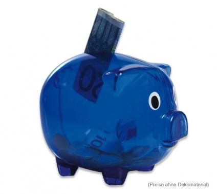 Sparschwein lustige Spardose, mit Bajonettverschluss am Boden