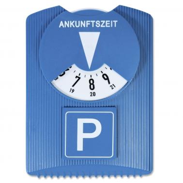 Parkscheibe Design: mit Eiskratzerfunktion, 24-Std. Anzeige