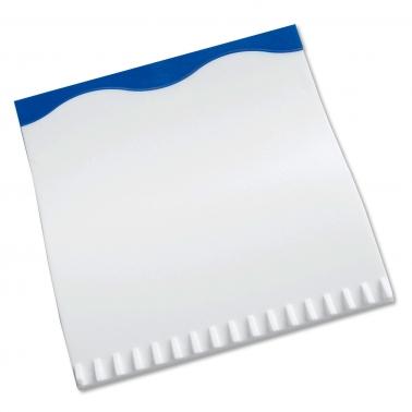 """Eiskratzer """"White-Wave"""", Gummilippe farbig, Eiskratzer weiss"""