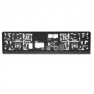 Kennzeichenhalter EASY-Comfort-RGS mit Schiebeverschluss unbedruckt / Blanko