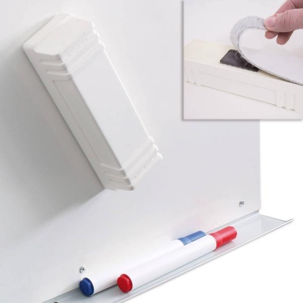 Tafellöscher zur Trockenreinigung von Whiteboards mit Filzstreifen Tafellöscher