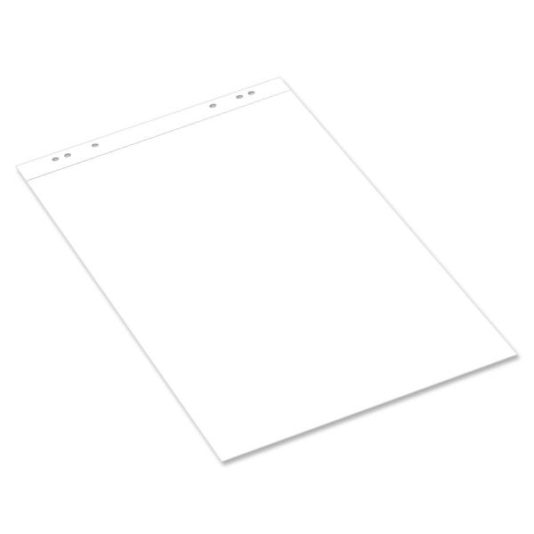 Flipchart-Block mit 20 Blatt, 6-fach Universallochung und Mikroperforation