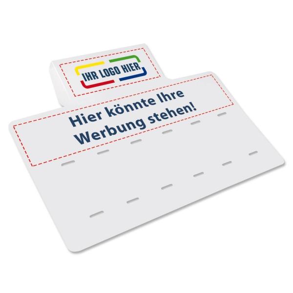 Verkaufsschild SALE mit Ihrem Logo / Werbetext (ohne Zahlen)  SALE mit Logo