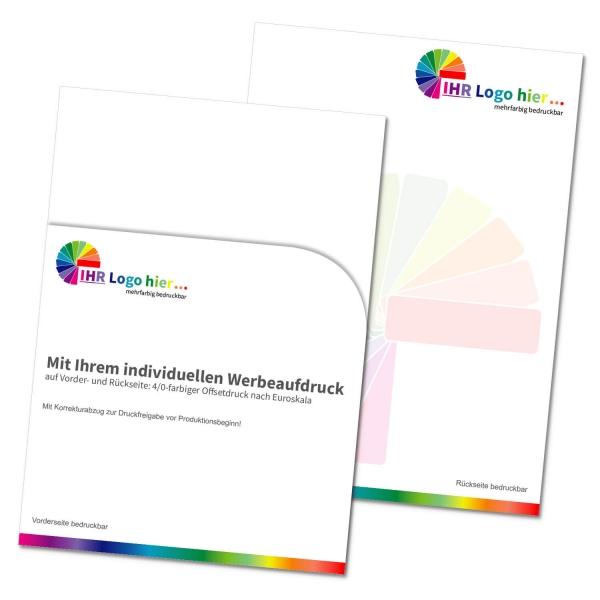 Dokumententasche Logo: mit Individualdruck: für Aufträge, Rechnungen etc.