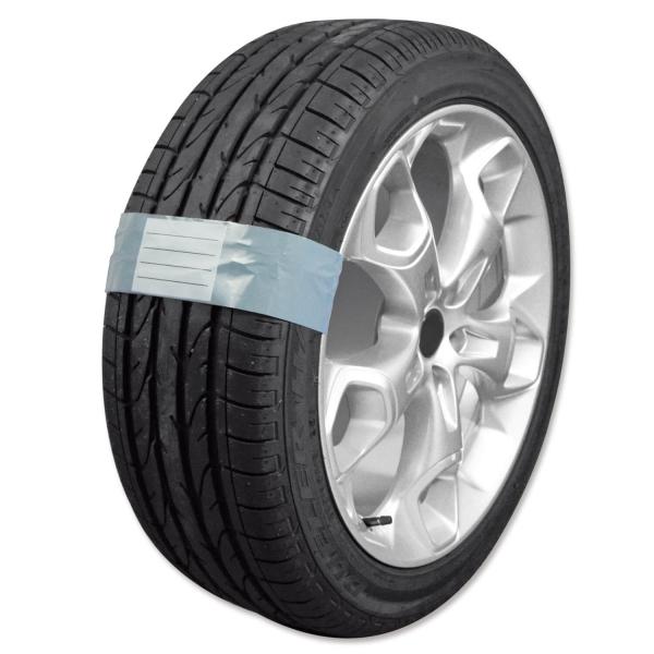 Reifenband Belt mit Klebestreifen, schnell verschließbar