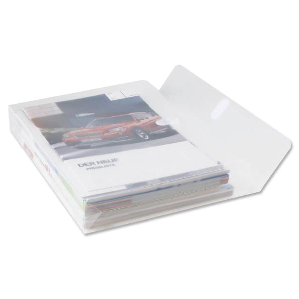 Dokumententasche A4 Klettverschluß, XL-Dehnfalte, bis H 50mm