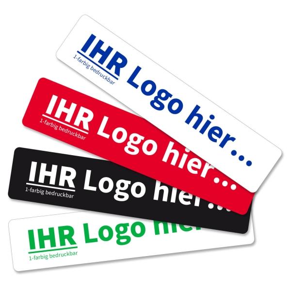 Miniletter mit Logo mit 1-farbigem, individuellem Siebdruck zur KFZ-Präsentation