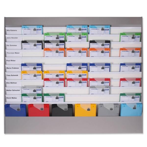 Plantafel Allround: für DIN A4, mit 11 Planungsreihen (10+1)