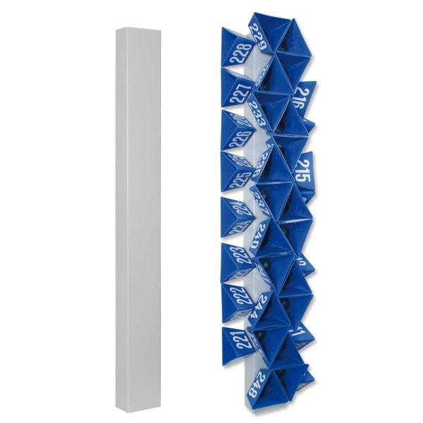Leitzahl-Rack Organisationswand für Leitzahlen mit eingelassenem Magnet