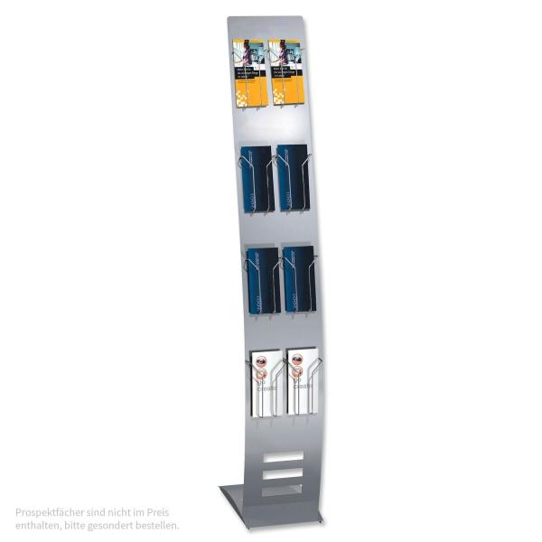 Info-Prospektständer Flex-Line I: flexibel bestückbar (Preis ohne Zubehör)