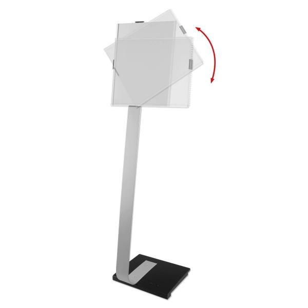 Infoständer FlexA3 für 2x DIN A4 oder 1x DIN A3 Infoblätter  2x A4 od. 1x A3