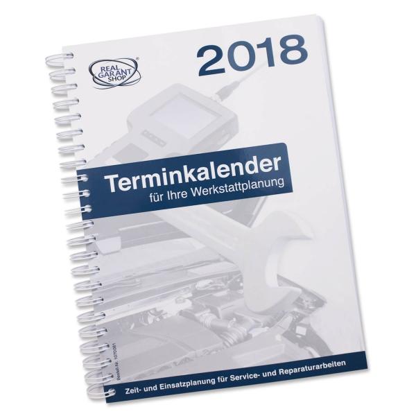 Terminplaner 2018 für KFZ-Werkstatt: Service & Reparatur