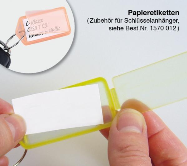 Papiereinlagen Zubehör Schlüsselanhänger Duo-Quick-Snap  Papiereinlagen