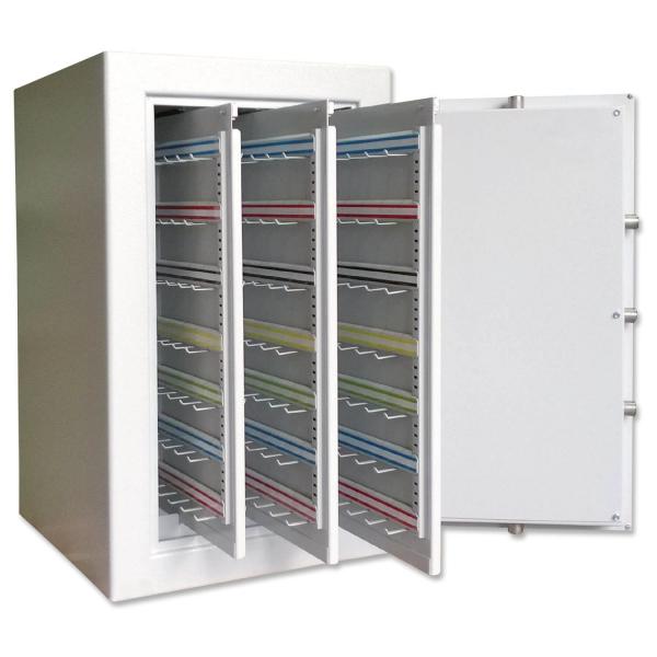 Schlüsseltresor Telematic XL: 210 lange Haken, 3 Auszüge  210 lange Haken
