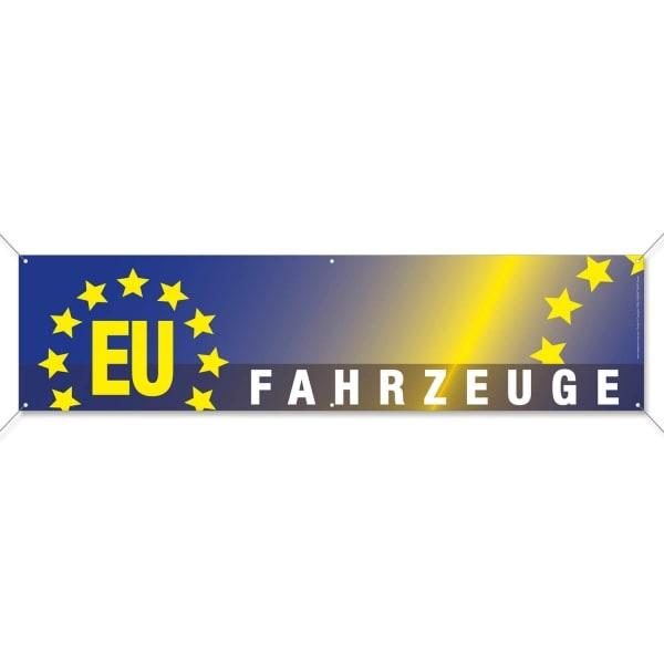 Spannband EU-Fahrzeuge: für Autohaus / KFZ-Handel