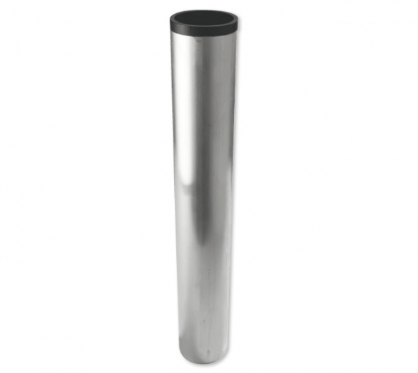 Bodenhülse für Fahnenmasten mit Außendurchmesser 76 mm für Ø 76mm