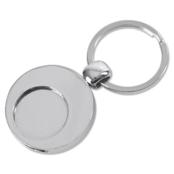 Schlüsselanhänger Trijet mit Schlüsselring