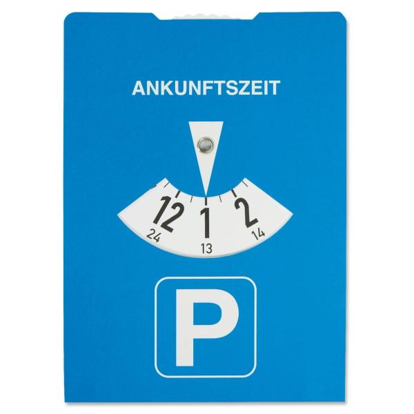 Parkscheibe Karton Eco-Calculator: mit Benzinrechner