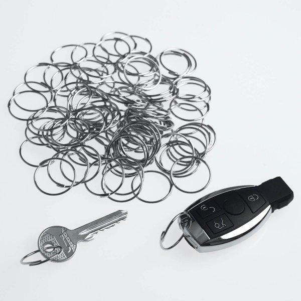 Schlüsselring Quick-Snap XL: Schnellverschluß, 100 Stk