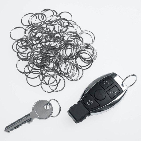 Schlüsselring Quick-Snap-L: Schnellverschluß, 100 Stk.