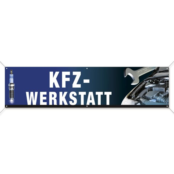 Spannband PVC KFZ-Werkstatt: aus reißfester PVC-Plane