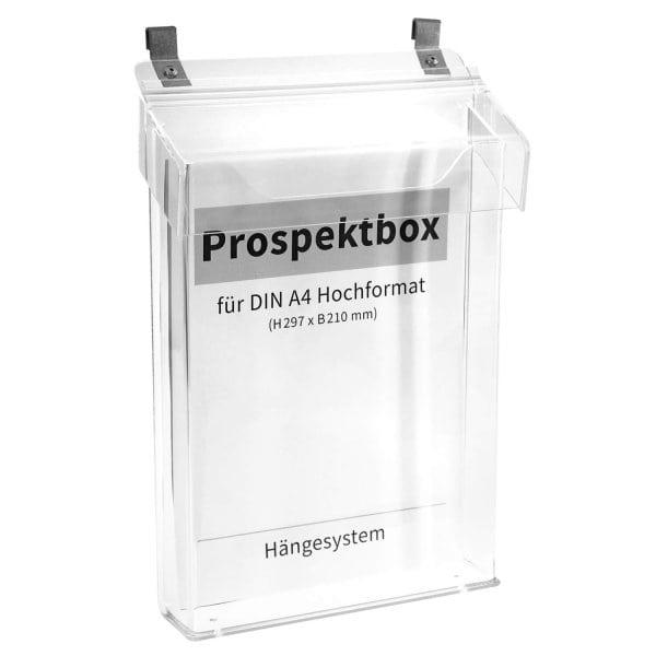 Prospektbox/ Infobox Car: für DIN A4 Formate, mit Deckel