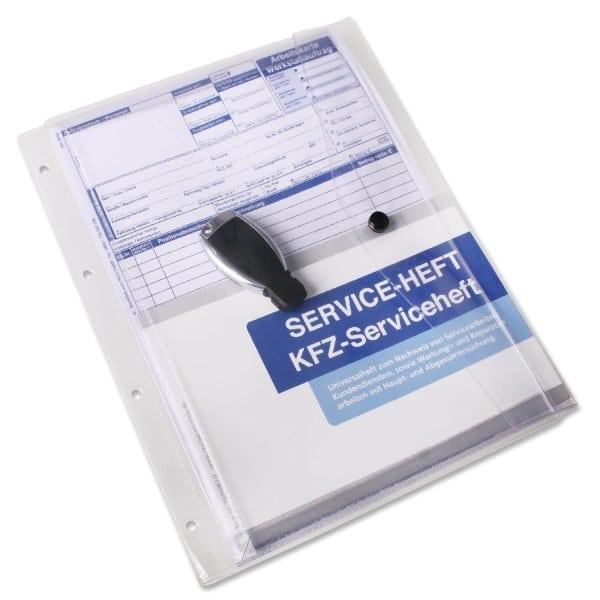 Dokumententasche XL mit Druckknopf, Abheftleiste, Dehnfalz