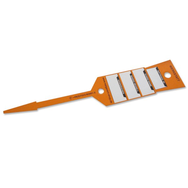 Schlüsselanhänger KFZ-Werkstatt: Schnellverschluss 96 Stk.  Orange/ 96 Stk.