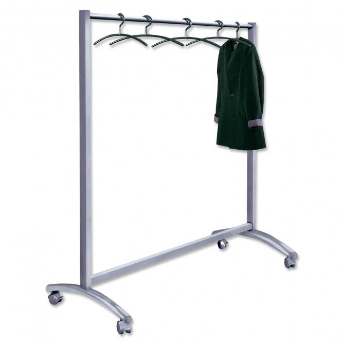 Garderobenständer Stabil garderobenständer event breit u stabil fahrbar